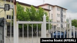Pamje e gjykatës në Mitrovicë