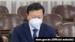 Денсаулық сақтау министрі Алексей Цой.