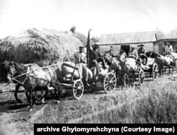 Забране у селян збіжжя. Колективізація і розкуркулення. 1930 рік