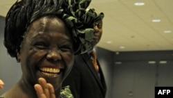 Нобель тынычлык бүләге иясе Вангари Маатаи