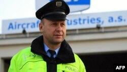 Сотрудник чешской полиции. Иллюстративное фото.