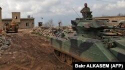 Սիրիայի - Թուրքական ուժերը Աֆրինի շրջանում, մարտ, 2018թ․