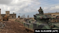 "Ankara says Turkish troops and allied Syrian rebels have captured ""areas of critical importance"" in the Afrin region. (file photo)"