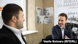 Invitaţii emisiunii, Ion Beschieru şi Iurie Ţap