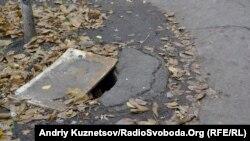 У Луганську біля будинку №7 у кварталі імені Якіра, 22 жовтня 2013