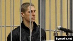 Уладзіслаў Кавалёў падчас судовага працэсу
