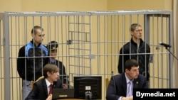Дмитрий Коновалов и Владислав Ковалев, суд в Минске, 15 сентября 2011