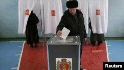 Гласањето во Русија