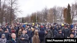 Антикоррупционный митинг в Казани 26 марта 2017 года