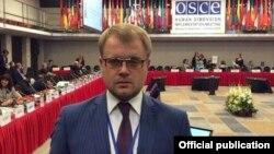 Дмитрий Полонский на конференции ОБСЕ в Польше