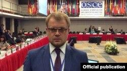 Дмитро Полонський на конференції ОБСЄ у Польщі