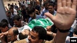 Накануне в сектора Газа погибли 33 человека, а за все время столкновений - 90 палестинцев