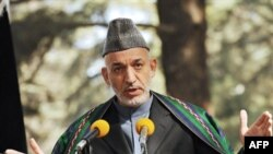 Afghan President Hamid Karzai congratulates Obama on his victory