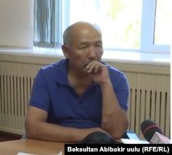 Işenbaý Kadyrbekow.