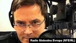 Зоран Ќука, уредник на македонската програма на Радио Слободна Европа