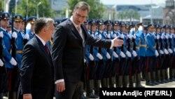 Унгарскиот претседател Виктор Орбан во посета на Србија.