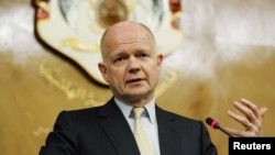 William Hague, britanski šef diplomatije