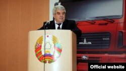 Аляксандар Бароўскі, фота з сайту МАЗу.