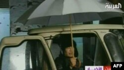 Қаддафийнинг давлат телевидениеси орқали чиқиши 22 феврал, 2011 йил