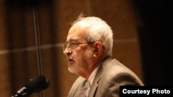 Iran -- Abolfazl Bahrampur, translator and commentator of Quran in Iranian official Radio and Television.