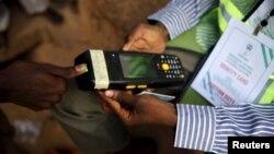 Перевірка відбитків пальців на виборах у Нігерії, 28 березня 2014 року