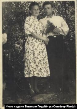 Микола Павлюк з дружиною Павліною