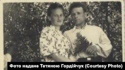 Микола Павлюк із дружиною Павліною