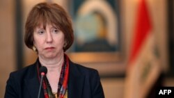 EU foreign policy chief Catherine Ashton (file photo)