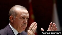 Tурскиот претседател Реџеп Тајип Ердоган.