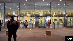 Клиника в Нью-Йорке, куда был госпитализирован американец, заразившийся вирусом Эболы.