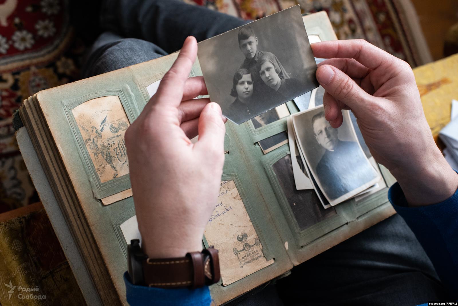 О репрессиях в семье в фотографиях