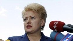 Presidentja e Lituanisë Dalia Gribauskaite