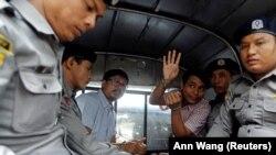 Журналисты Reuters Ва Лоне и Куав Сое Уу.