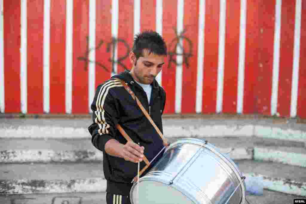 The Drummers Of Macedonia's Semka Band #2