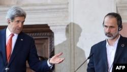 Džon Keri i Moaz al Katib u Rimu