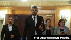 Marcel Ciolacu, președinte interimar al PSD