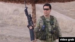 Президент Гурбангулы Бердымухамедов на военных учениях