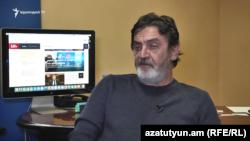 Учредитель телекомпании «А1+» Месроп Мовсесян (архив)