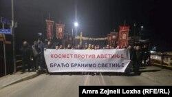 Протест во Грачаница