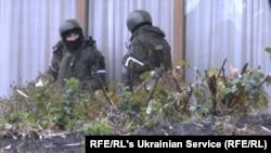 Озброєні люди на вулицях Луганська, 21 листопада 2017 року