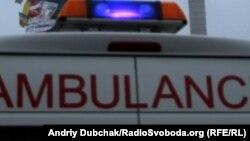Ukraine -- #Euromaidan Khreschatik ambulance, 27Dec2013