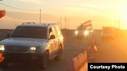 قوى الأمن العراقية خلال عملياتها في الأنبار