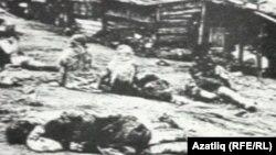 Орынбордағы 1920 жылдардағы аштық кезінде қырылған адамдар.