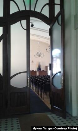 Зал Академии наук Литвы