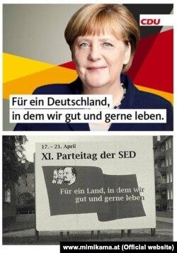 O încercare de discreditare a sloganului electoral folosit de Angela Merkel