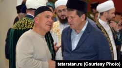Рөстәм Миңнеханов һәм Илсур Метшин