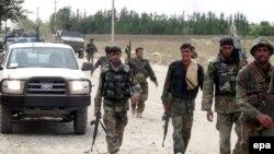 آرشیف، شماری از نیروهای امنیتی افغانستان در حال اجرای یک عملیات نظامی.