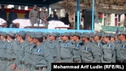 Afghan police officers are high profile targets for the Taliban