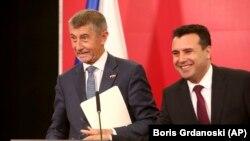 Премиерот Зоран Заев и неговиот чешки колега Андреј Бабиш, Скопје, 11.06.2019.