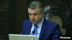 Карен Карапетян, Армения премьер-министрінің міндетін атқарушы.